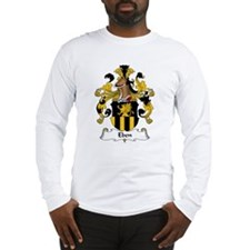 Eben Family Crest Long Sleeve T-Shirt