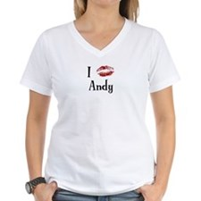 I Kissed Andy Shirt