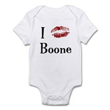 I Kissed Boone Onesie