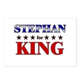 STEPHAN for king Postcards (Package of 8)