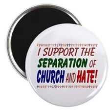 Magnet - I support the separation of Church and