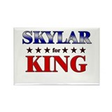SKYLAR for king Rectangle Magnet (10 pack)