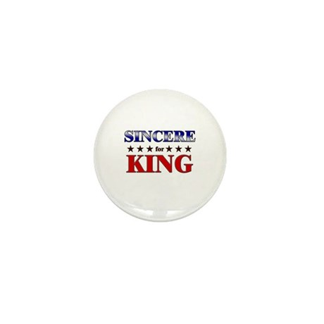 SINCERE for king Mini Button (10 pack)