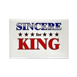 SINCERE for king Rectangle Magnet (10 pack)