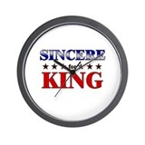 SINCERE for king Wall Clock