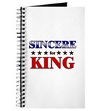 SINCERE for king Journal