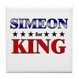 SIMEON for king Tile Coaster