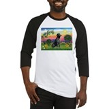 Bright Country & Black Lab Baseball Jersey