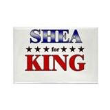SHEA for king Rectangle Magnet