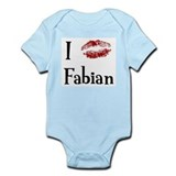 I Kissed Fabian Infant Bodysuit