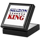 SHARON for king Keepsake Box