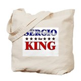 SERGIO for king Tote Bag