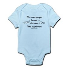 Like My Ferrets Infant Bodysuit