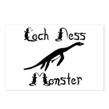 Loch Ness Monster Postcards (Package of 8)