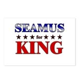 SEAMUS for king Postcards (Package of 8)