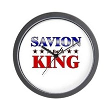SAVION for king Wall Clock