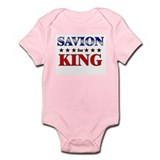 SAVION for king Onesie