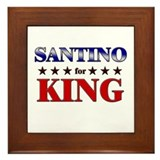 SANTINO for king Framed Tile