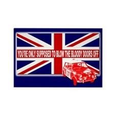 Italian Job Union Flag Rectangle Magnet (10 pack)