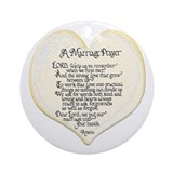 Marriage Prayer Keepsake (Round)