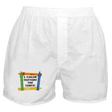 Color Outside The Lines Boxer Shorts