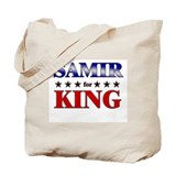 SAMIR for king Tote Bag