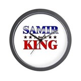 SAMIR for king Wall Clock