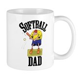 Softball Dad Coffee Cup 11oz