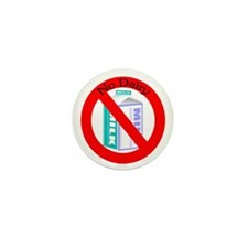 Allergic to dairy Mini Button