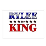 RYLEE for king Postcards (Package of 8)