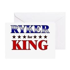RYKER for king Greeting Card