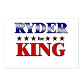 RYDER for king Postcards (Package of 8)