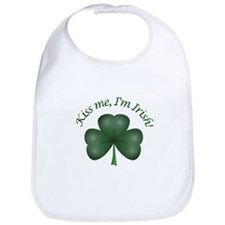 Kiss me, I'm Irish! Bib