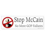 Stop McCain Bumper Sticker