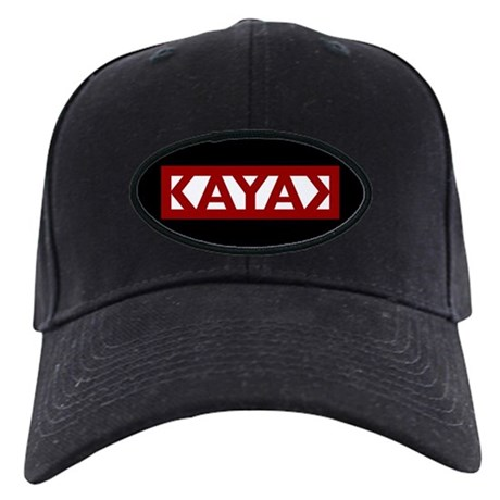 Kayak Productions baseball cap (Black)