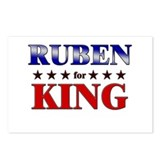 RUBEN for king Postcards (Package of 8)