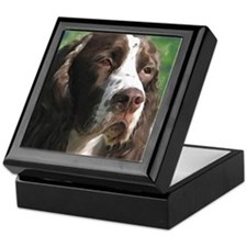 Adoring English Springer Span Keepsake Box
