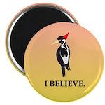 Simple Ivory-billed: I Believe Magnet