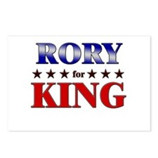 RORY for king Postcards (Package of 8)