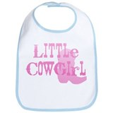 Little Cowgirl Bib