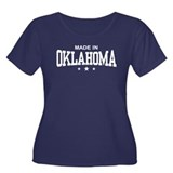 Made in Oklahoma Women's Plus Size Scoop Neck Dark