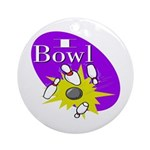 I Bowl Keepsake (Round)