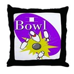 I Bowl Throw Pillow
