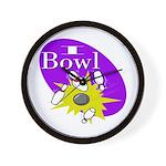 I Bowl Wall Clock