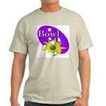 I Bowl Ash Grey T-Shirt