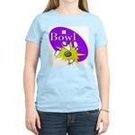 I Bowl Women's Pink T-Shirt