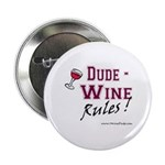 """Wine Rules Button (2.25"""")"""