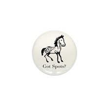 Appaloosa Got Spots Mini Button (100 pack)