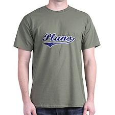 Plano Texas Text T-Shirt
