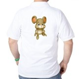 Quiet Brown Mouse Polo Shirt